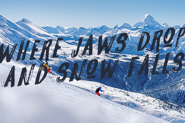 Where jaws drop and snow falls