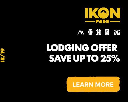 IKON PASS Lodging Offers