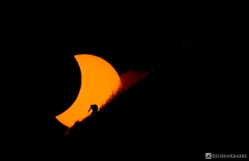 Total solar eclipse in Svalbard, Norway, March 20th, 2015