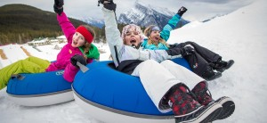 Tube Town at Mount Norquay