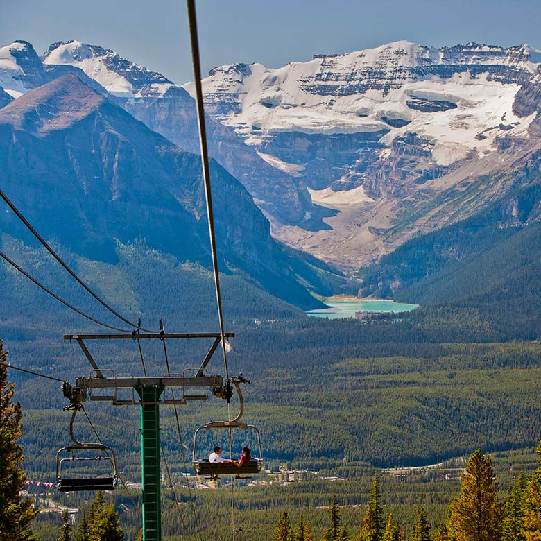 Lake Louise Gondola - Photo Banff Lake Louise Tourism - Paul Zizka
