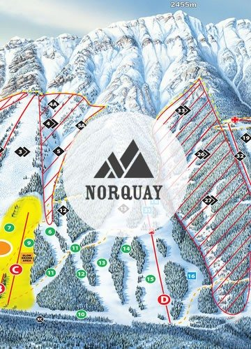 Norquay-Map