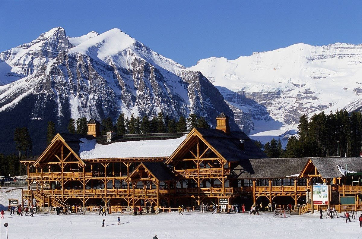 Mt norquay lake louise and sunshine village trail maps for Ski cottage