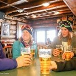 Apres at Mad Trappers at Sunshine Village