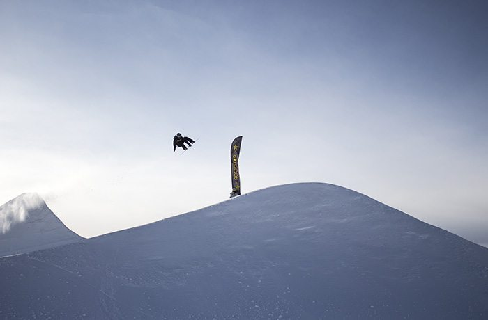 Sunshine Village Snowboard | Photo by Luke Sudderman
