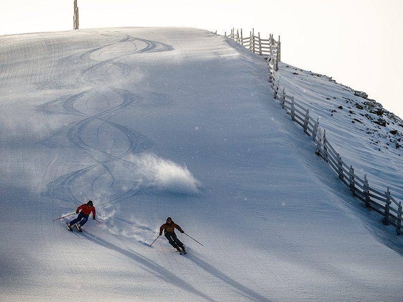 The Lake Louise Ski Resort