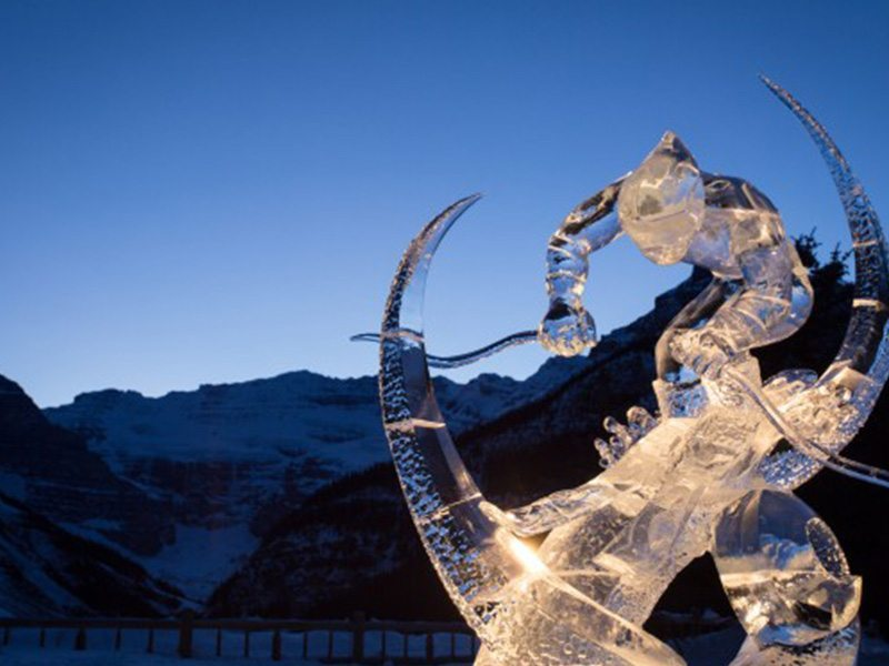 Ice Magic Festival in Lake Louise