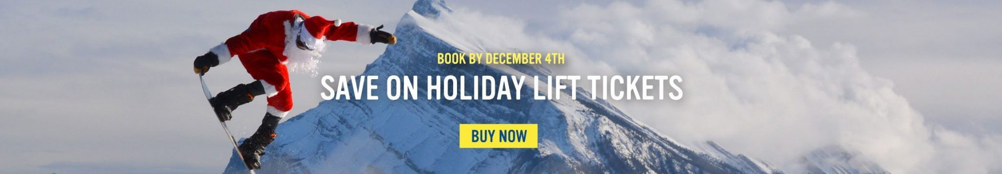 Save on holiday lift tickets