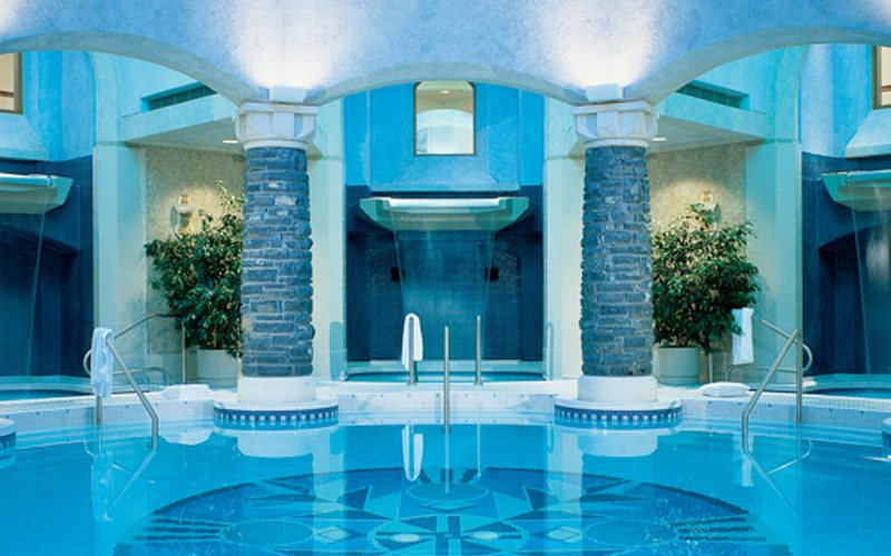 A visit to the legendary Willow Stream Spa is truly special. Photo: Fairmont Banff Springs.