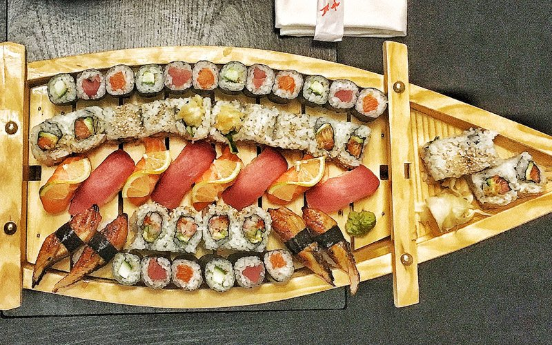 "Head to Samurai Sushi Bar and Restaurant for a ""party boat"" to remember. Photo: Bonnie Harrison."