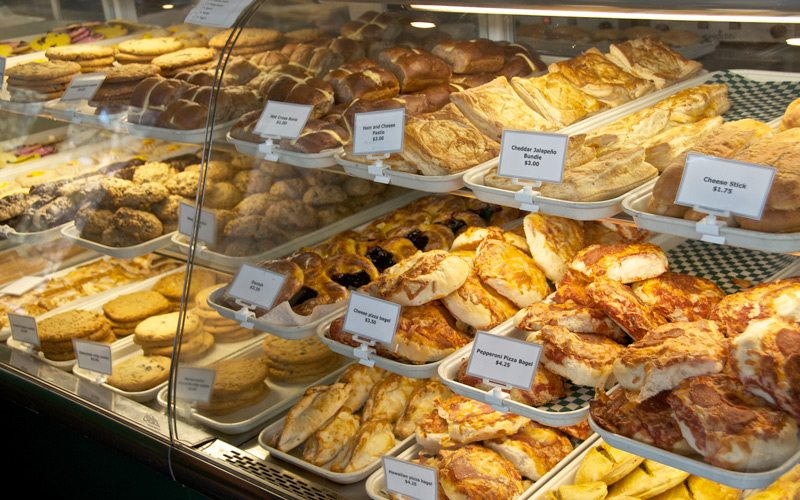 Laggan's offers delicious bakery options for a quick & tasty breakfast on the go. Photo: Laggans.com.