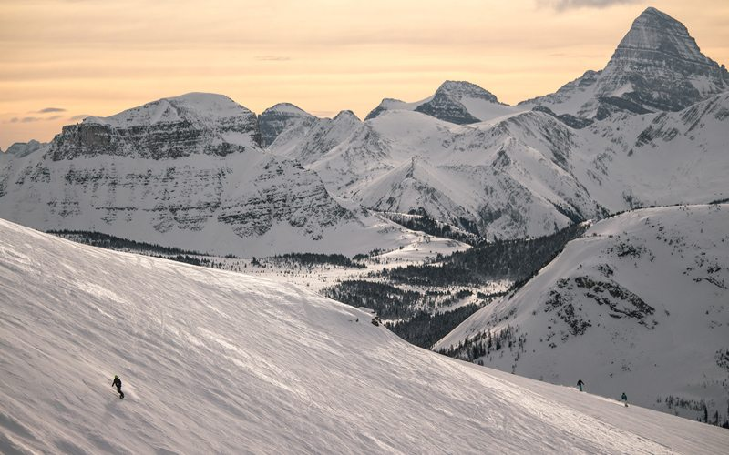 Banff National Park is home to three world-class ski resorts. Photo: Banff Sunshine by Luke Sudermann.