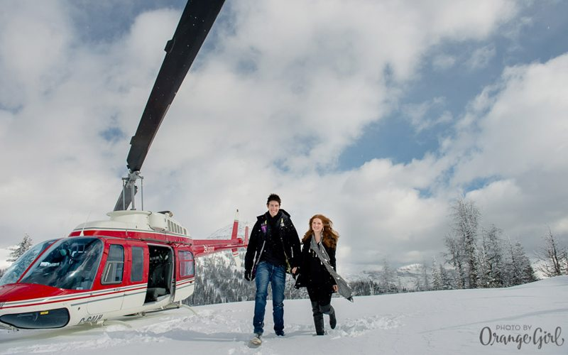 A Banff National Park helicopter tour is an unforgettable couple's experience. Photo: TweedTelegraph.com