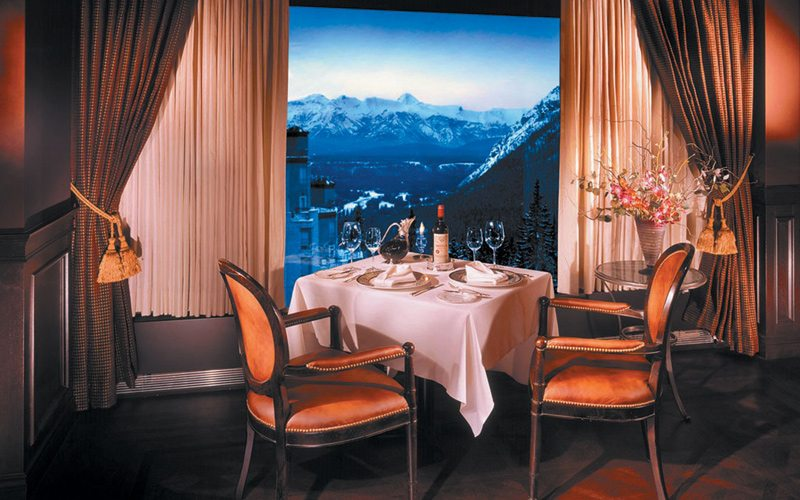 Head to The Rimrock Hotel's Eden Restaurant for the most luxurious meal in Banff. Photo: BanffEden.com
