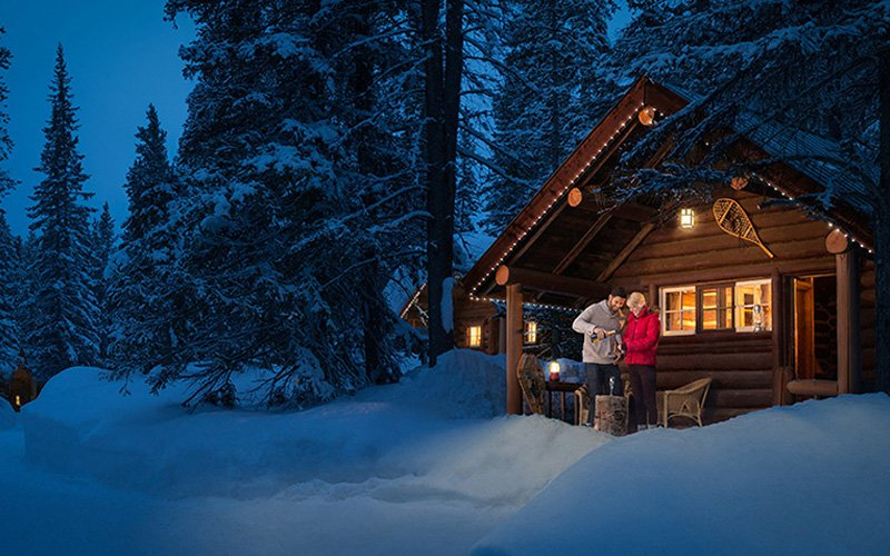 Curl up at a cozy mountain lodge after your ski day. Photo: Storm Mountain Lodge