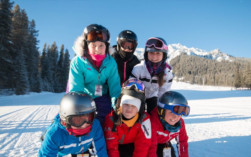 Club Ski has the perfect group for you, regardless of your age or experience level. Photo: Mt Norquay.