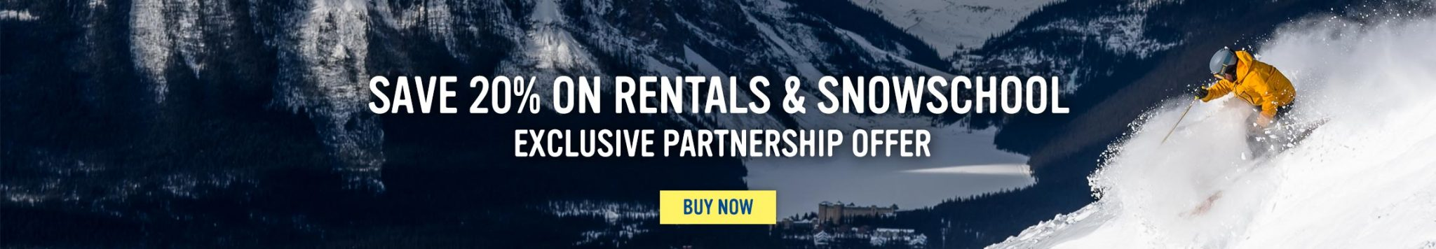 Partners - Rentals and Snow School - Save 20 percent