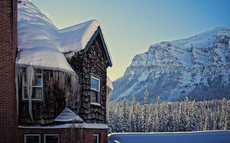 Deer Lodge offers a taste of classic Lake Louise Alpine heritage. Photo: Canadian Rocky Mountain Resorts.