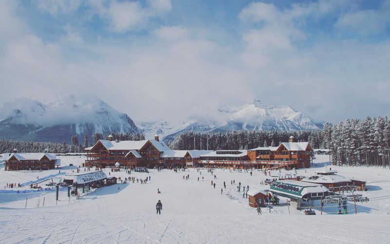 Lake Louise Ski Resort is minutes from the heart of Lake Louise. Photo: @phil__holmes via Instagram.