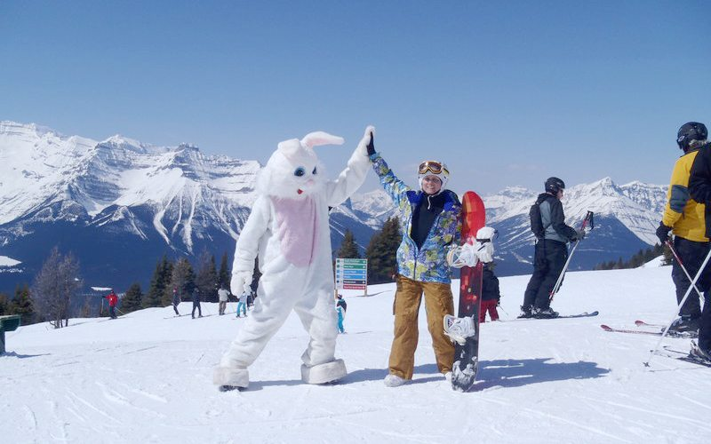 Image result for banff ski easter