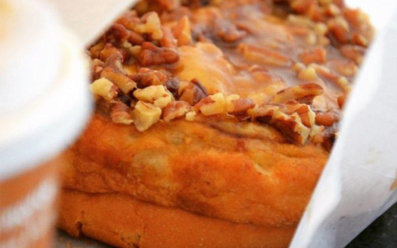 Laggan's cinnamon buns and coffees are sure to impress. Photo via @kelzflower on Instagram