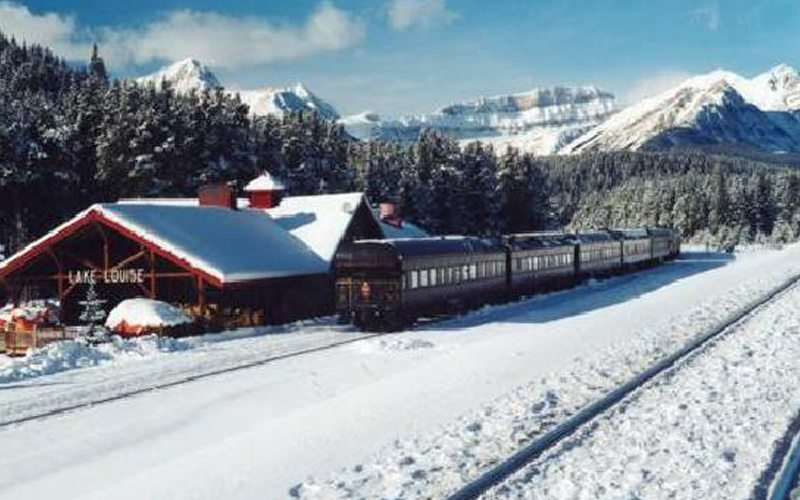 Head to Station Restaurant, a former train station, serving contemporary cuisine in Lake Louise. Photo: TripAdvisor.com