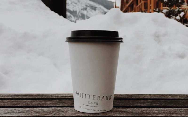 Head to Whitebark at Banff Aspen Lodge for the best coffee in town. Photo via @cat_power80 on Instagram