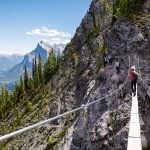 5 reasons you need to try Norquay's Via Ferrata