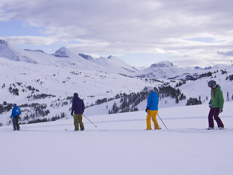 Guided Adventures at Banff Sunshine Village
