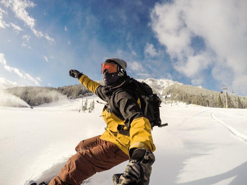 Photo by Luke Sudermann at Mt. Norquay on November 20, 2017