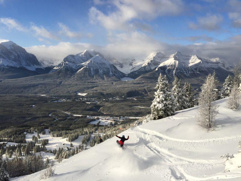 Photo by Chris Lamothe at Lake Louise Ski Resort. Photo taken November 20, 2017.