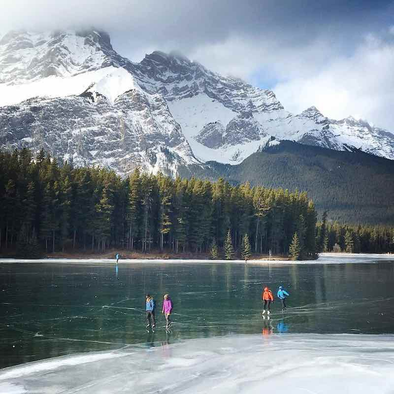 Two Jack Lake, Banff National Park. Photo by Jeff Biro.
