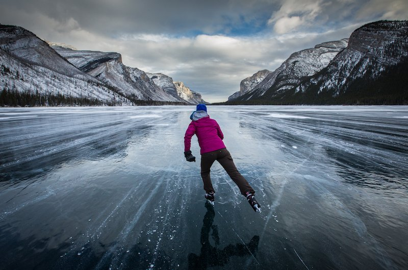 Lake Minnewanka, Banff National Park. Photo by Paul Zizka Photography.