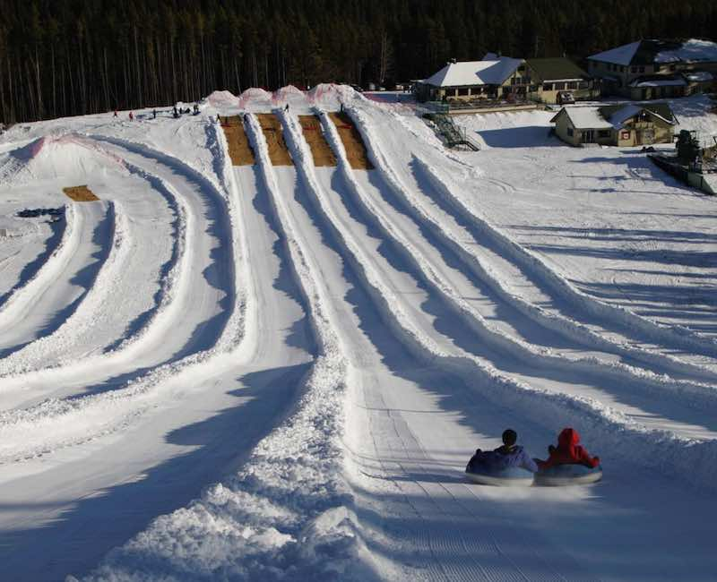 Tubing at Mt. Norquay