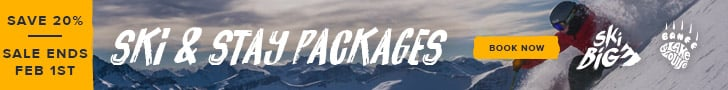 Ski & Stay Packages - Save up to 20%
