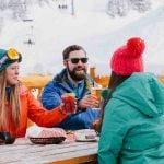 Spring Après Ski Patios in Banff and Lake Louise
