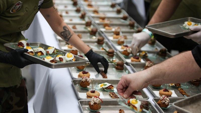 Cochon555 food prep