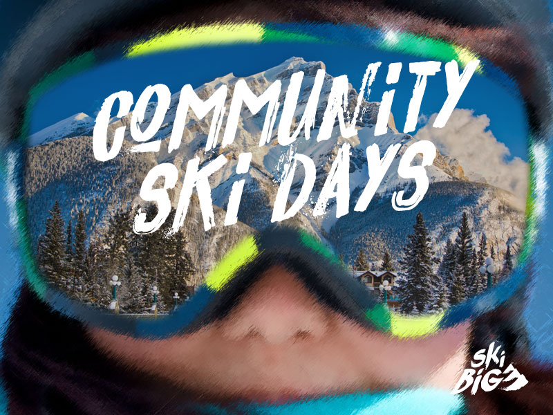 SkiBig3 Community Ski Days