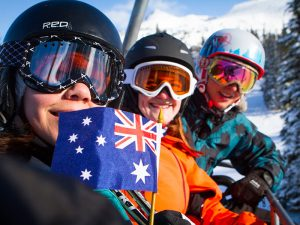Australian summer holiday ski vacation