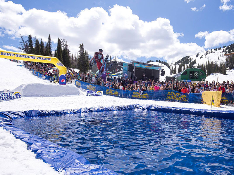 Banff Sunshine Slush Cup 91