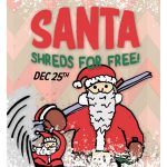 Santa Shredz for free at Mt. Norquay