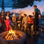Winter Campfire Spots in Banff National Park