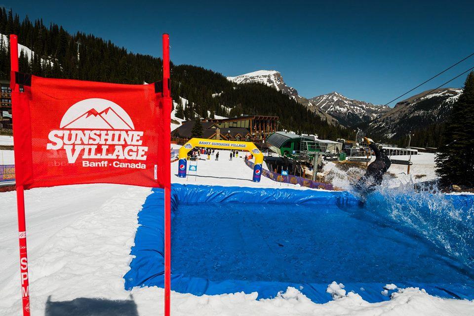 Banff Sunshine Banked Slalom