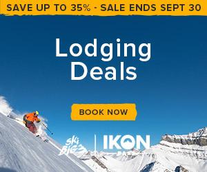 SkiBig3 IKON Lodging Deals