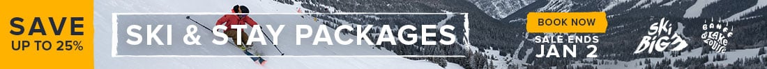 SkiBig3 Ski & Stay Packages