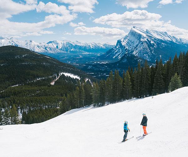 SkiBig3 Snow School, Banff National Park