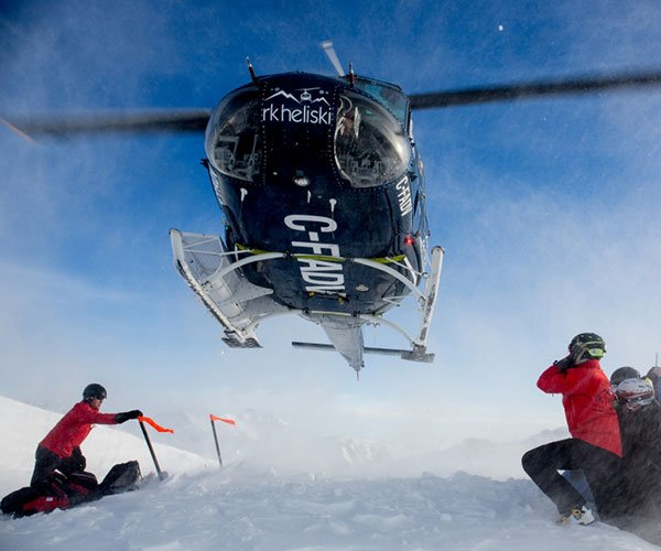 Heli Skiing with RK Heliski in Banff National Park
