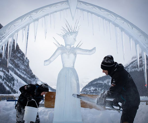 Ice Magic Festival/SnowDays at Lake Louise, Banff National Park