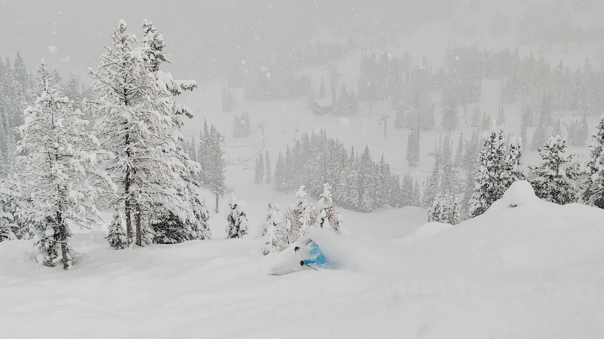 100 Photos of Early Season Powder at SkiBig3 Just in Time for the Holidays