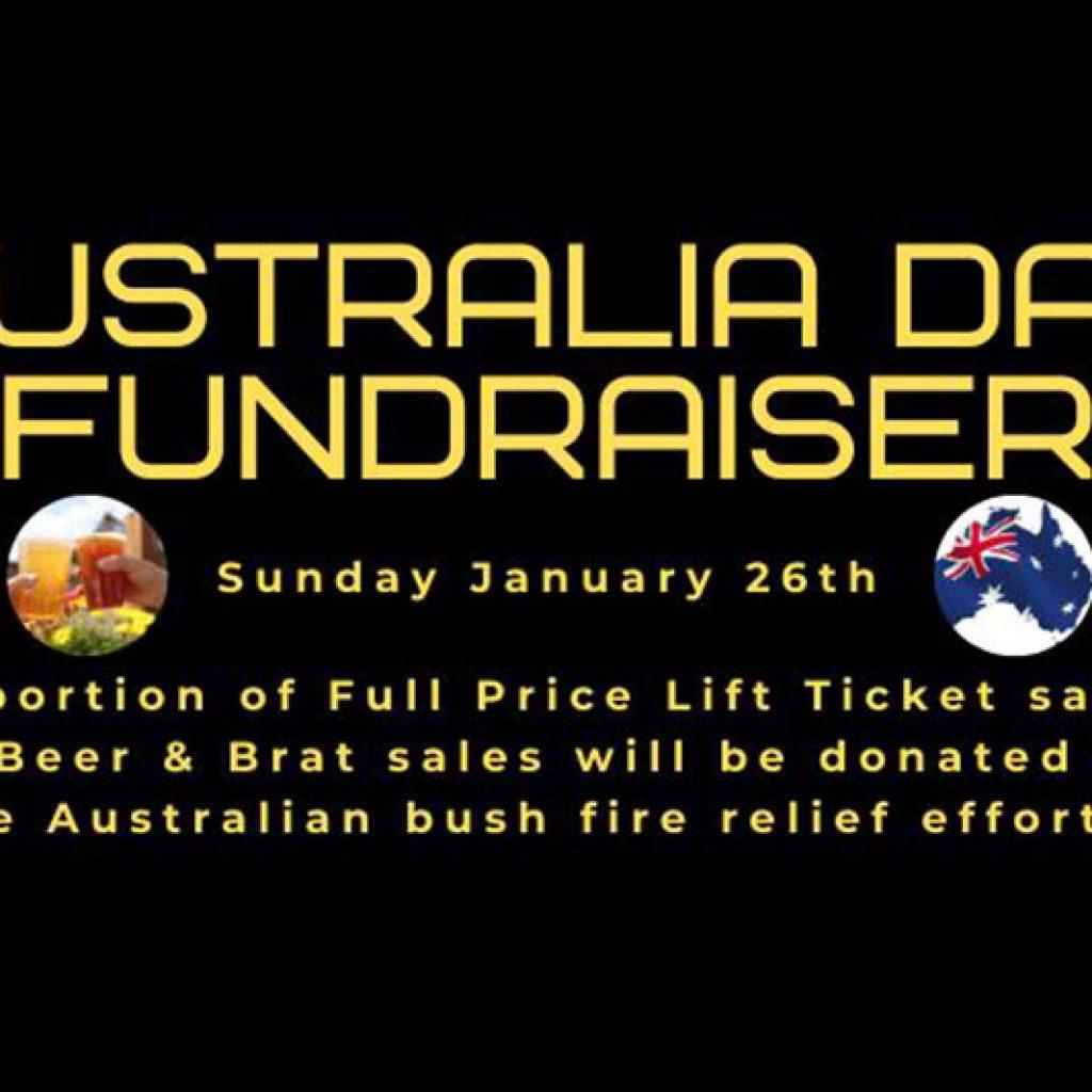 Australia Fundraiser at Lake Louise Ski Resort